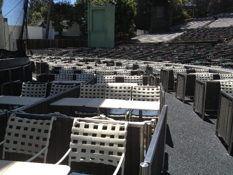 Hollywood Bowl Seating Chart Pool Circle Pin Hollywood
