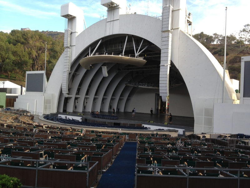 Top hollywood bowl seating view wallpapers for Terrace 5 hollywood bowl