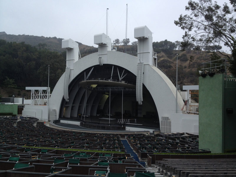 Seat views hollywood bowl tipshollywood bowl tips for Terrace 2 hollywood bowl