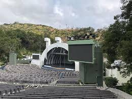 Hollywood Bowl big screens