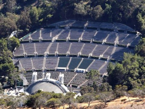 Hollywood Bowl Drone